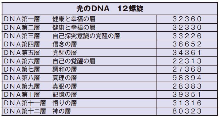 光のDNA